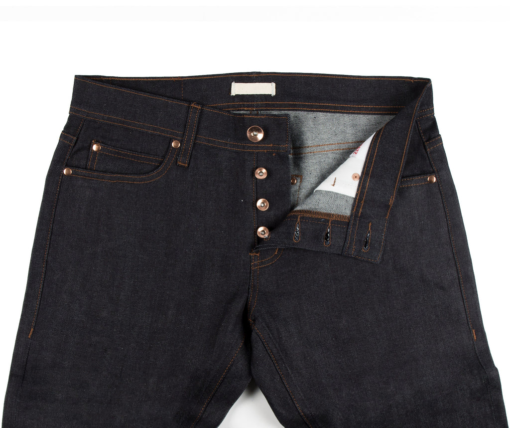 TIGHT FIT STRETCH SELVEDGE 11OZ - INDIGO