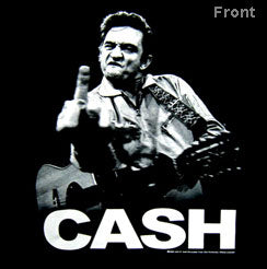 JOHNNY CASH (FINGER) TEE