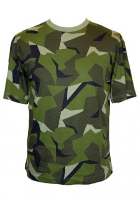 EUROPEAN CAMOUFLAGE T-SHIRT SWEDISH CAMO