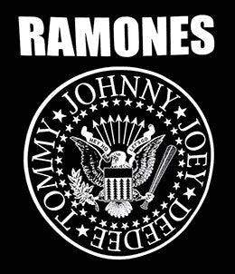 RAMONES (THE SEAL LOGO) TEE