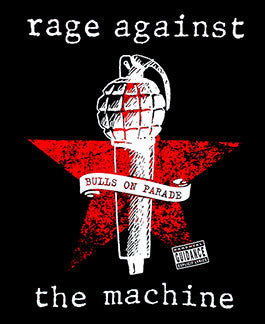 RAGE AGAINST THE MACHINE (BULLS ON PARAGE) TEE