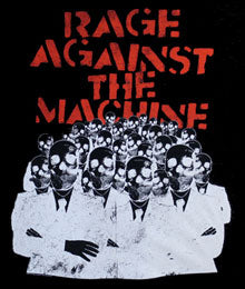 RAGE AGAINST THE MACHINE (SKELETON HEADS) TEE