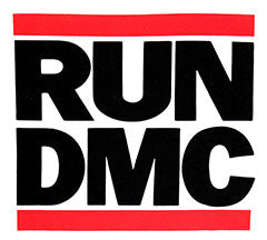 RUN DMC (LOGO WHITE) TEE