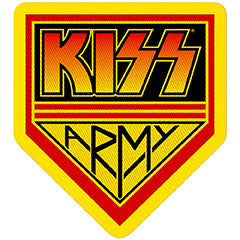 KISS (ARMY BADGE) PATCH