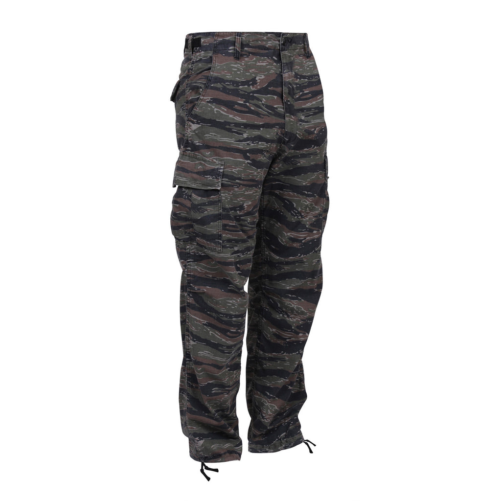 MEN'S BDU TWILL CARGO PANT - TIGER STRIPE CAMO