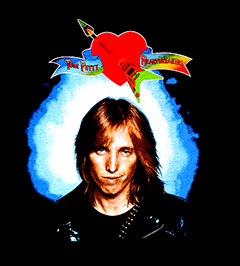 TOM PETTY (GUITAR HEART) TEE
