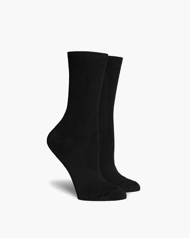 WOMEN'S NIGHTINGALE SOCKS - BLACK