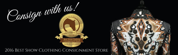 Consignment Horse Show Apparel at Just Peachy