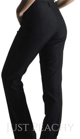 Black Showmanship Slacks by Berry Fit - Just Peachy