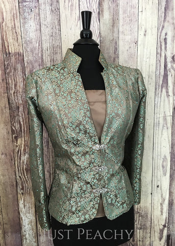 Brocade halter/showmanship suit