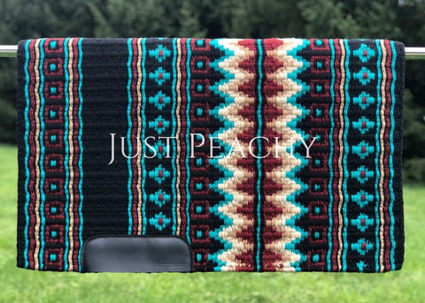 Oversized Western Saddle Blanket by Just Peachy - Just Peachy Show Clothing