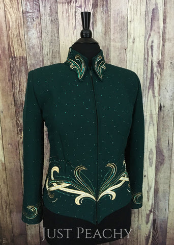 Western Horse Show Outfit with Chaps by Berry Fit - Just Peachy Show Clothing