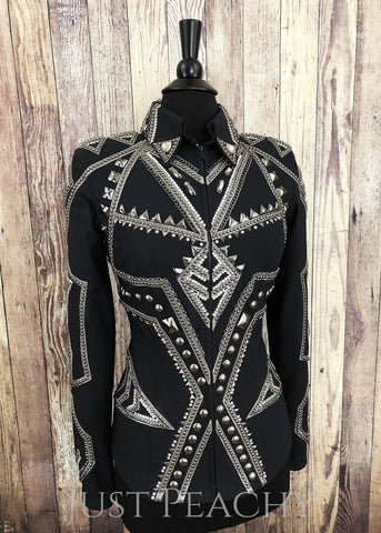 Western Horse Show Jacket by Sweet Magnolia Designs - Just Peachy Show Clothing