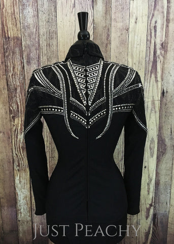 Western Horsemanship Shirt by Haute Couture Show Clothing - Just Peachy Show Clothing
