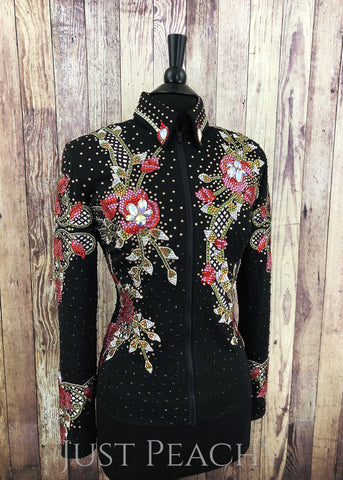 Western Horse Show Jacket by Paintedj Western Show Apparel - Just Peachy Show Clothing