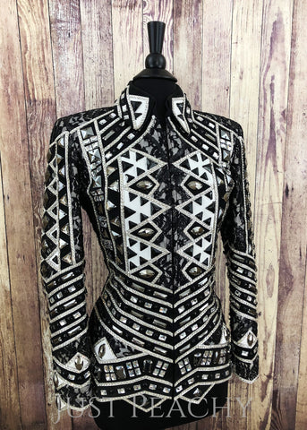Western Showmanship Jacket by Lindsey James - Just Peachy Show Clothing