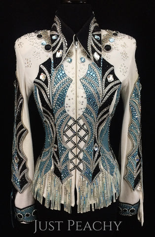 Just Peachy Designer Horse Show Apparel New Gently Used