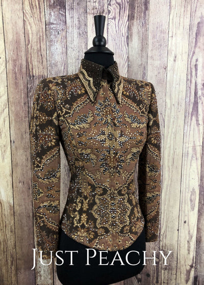 Earthtone Showmanship Outfit By Show Grace ~ Ladies Xs Western