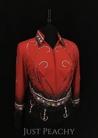 Western Horse Show Jacket by Berry Fit - Just Peachy Show Clothing
