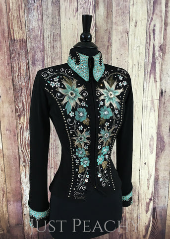 Western Horse Show Jacket by Connie's Customs - Just Peachy Show Clothing