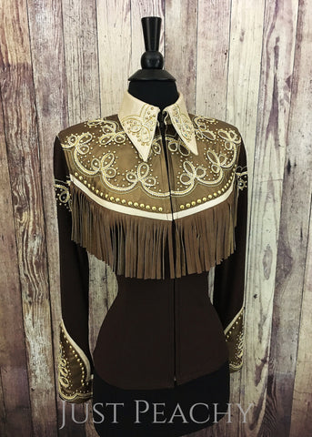 Western Horse Show Jacket by Deb Moyer - Just Peachy Show Clothing