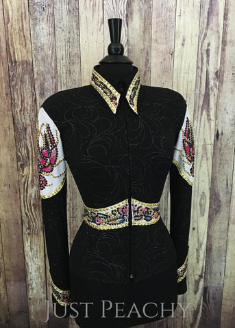 Western Horse Show Jacket by Show Diva Designs - Just Peachy Show Clothing