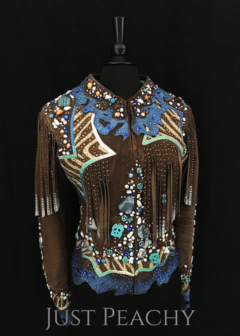 Western Horse Show Jacket by Dawn Haas Myers - Just Peachy Show Clothing