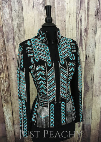 Western Horse Show Jacket by Just Pam - Just Peachy Show Clothing