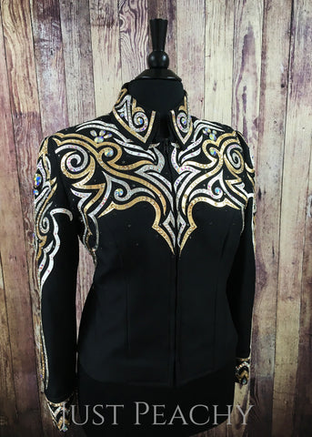 Western Horse Show Jacket by April Salisbury - Just Peachy Show Clothing