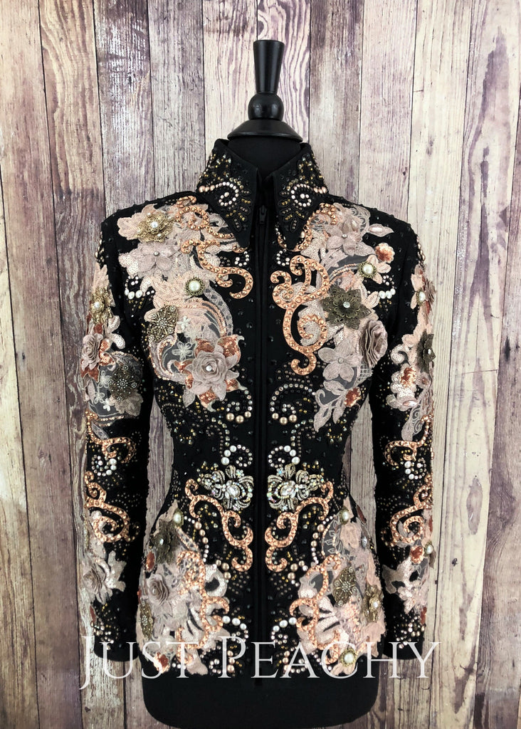 Sonder Avenue western showmanship jacket - Just Peachy Show Clothing