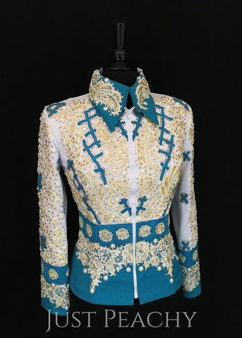Western Horse Show Jacket by Keyes Kreations - Just Peachy Show Clothing