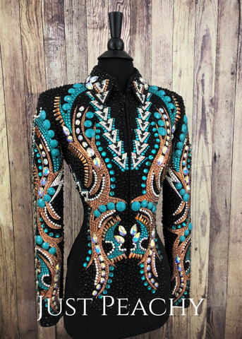 Western Horse Show Jacket by Lindsey James - Just Peachy Show Clothing