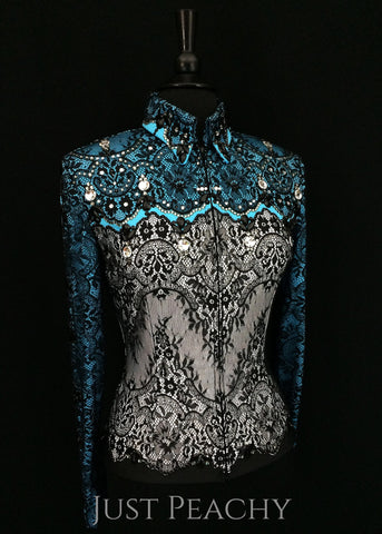 Western horse show jacket by Paintedj Western Show Apparel