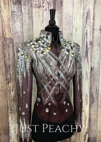 Western Horse Show Jacket by Paula's Place - Just Peachy Show Clothing