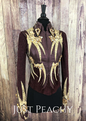Western Horse Show Vest Set by Paula's Place - Just Peachy Show Clothing