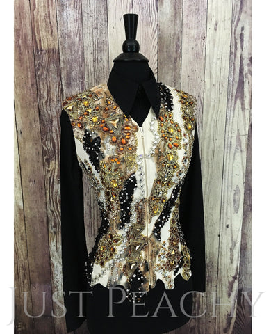 Western Horse Show Vest by Showtime - Just Peachy Show Clothing