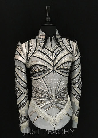 "The ""Aria"" Jacket/Vest by Haute Couture Show Clothing"