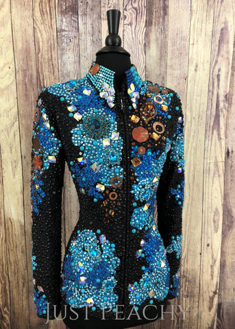 Western Showmanship Jacket by Trudy Black Label - Just Peachy Show Clothing
