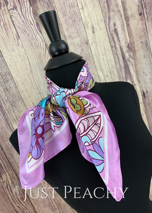 Print Western Horse Show Scarf #1003