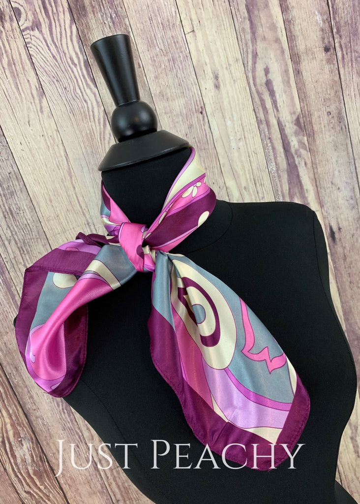 Print Western Horse Show Scarf #1005