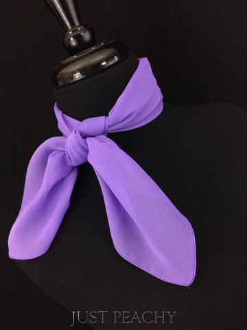 Solid Horse Show Scarf - Light Purple - Just Peachy