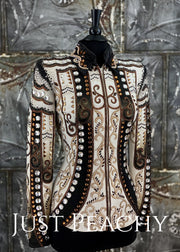 Lindsey James Showmanship Jacket ~ Just Peachy Show Clothing