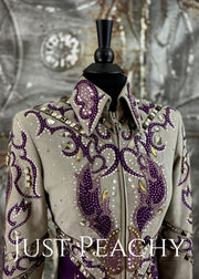 Granite and Plum All-Day Jacket by On Pattern Designs ~ Ladies XS