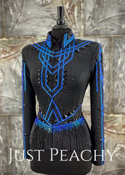 Jackson Rae Designs Riding Jacket with Fringe ~ Just Peachy Show Clothing