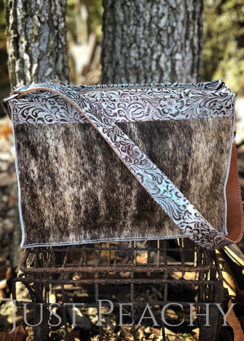 Cowhide Purse by Just Peachy - Just Peachy Show Clothing