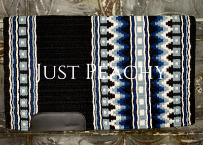 34 x 42 Oversized Western Horse Show Saddle Blanket ~ Just Peachy Show Clothing
