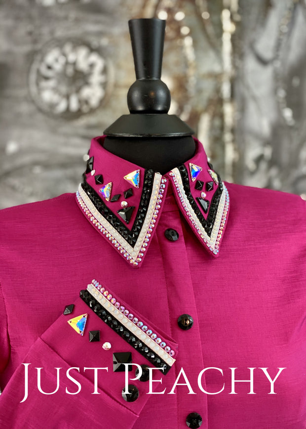 The Cosmopolitan Dress Shirt in Fuchsia ~ Just Peachy