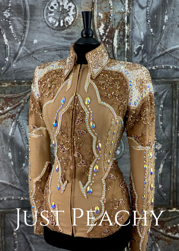 Sand, Gold and Ivory Showmanship Outfit by Show Grace ~ Ladies Small