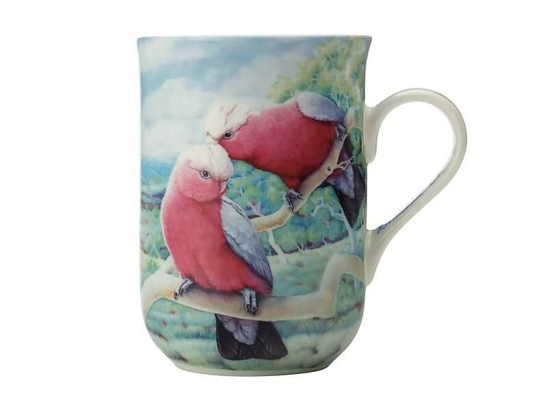 Birds of Australia KC 10yr Anniversary Mug 300ML Galah
