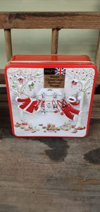Christmas Food Gift - Santa's Washing Line Biscuits In Tin